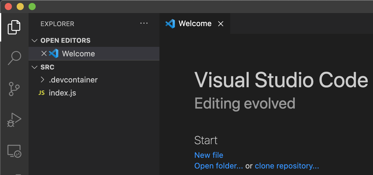 VScode Reopen Locally
