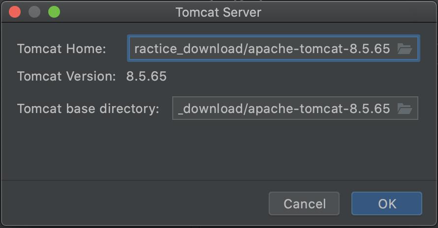 Intellij Tomcat Server